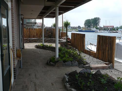 Tuin aan de haven